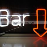 chartered accountant logo neon neon sign manufacturer neon light words