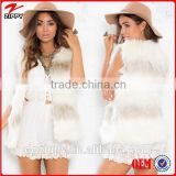 Stay super warm and cosy throughout winter faux fur vest winter vest for woman