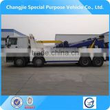 high quality howo wrecker,heavy wrecker,heavy duty tow truck under lift wrecker truck for sale
