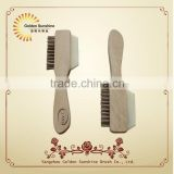 Hot selling new design wooden dance shoe cleaning brush