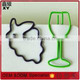professional customer logo design fruit grape Red wine glass types of designer paper clips