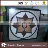 beautiful flower designed marble mosaic tile for decoration