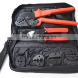 Coaxial tool kit for CCTV BNC coax cable connectors professional hand crimping tools set AP-K05H