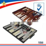Hot sale portable leather backgammon