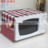 microwave oven cover / microwave oven cover with Side Storage Bag / cloth microwave oven dust cover