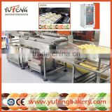 Automatic Gas Donut Maker with Donut Glazer and Sugaring Table