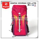 Quanzhou dapai factory hiking custom back pack, camel mountain backpack (DP-15026-06)