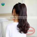 Horse Hair Wig Lady Volume Ponytail Hair Piece Band Ponytail Fake Hair Ponytails