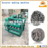 Stainless steel wool scourer machine for mesh scoure for sale