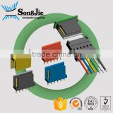 ip66 waterproof straight type small 2 3 4 5 6 pin connector types, 4 pin speaker wire connector