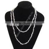Gets.com 2015 white freshwater pearl beaded charm necklace