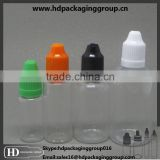 plastic e liquid empty bottles e cigarett plastic dropper bottles e liquid container transparent e liquid plastic bottle