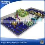 China factory TUV/ASTM/CE certificate free design cheap bungee cord trampoline