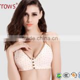 Cotton Vest Nursing Bra Brand Plus Sizes Wireless Maternity Bra for Pregnant Women