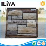 Modern and elegant in fashion white cement artificial exterior stone wall tiles paneling artificial stone fence