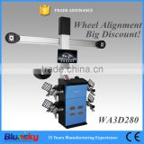 car repair equipment, 3d wheel alignment/ car alignment machine/ tire and alignment shop