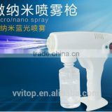 INquiry about Hot sale Portable Electric hair nano spray machine hair styler
