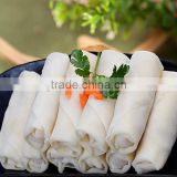 IQF frozen vegetable spring rolls