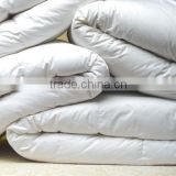 Wholesale Classic 55% white duck down comforter yangzhou wanda luxury feather home textile