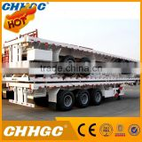 Hot selling drop deck 40ft flatbed trailer for wholesales