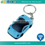 Car Model Waterproof 125Khz Hitag 2 RFID keyfob/ keychain/ key tag