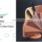 Bamboo Rotatable Knife Block