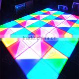 Portable Dance Floor LED,3d effect with Madrix control/led colorful dance floor wholesale