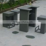 Outdoor Furniture All Weather Rattan Bar Set