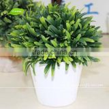 GNW GP008-1 17cm fake grass green plant artificial bonsai plants height for office decoration