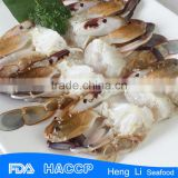 HL003 low price Frozen Cut Crab