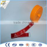 20m-100m Reflective warning tape warning belt with desighs