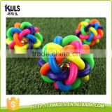 Soft Rubber Chew Ball Toy For Dogs cats Dental Bite Resistant Tooth Cleaning Dog Toy Balls for Pet toy Training balls