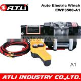2016 Hot sales wrench Mini 12v electric winch with 3500LBS Electric wrench supplier in China