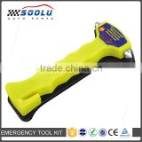 Portable Seatbelt Cutter Window Breaker Emergency Car Hammer with Noctilucence