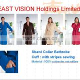 Men and ladies' bathrobe with padded (EV-Bxxx-BR)
