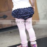 legging Ruffle Butts Infant Baby Cute Pink Ruffled Leggings Footless Cotton Rhumba Footless Tights ruffle petti pants