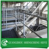Galvanized low carbon steel Q235 ball joint railing for park zoo