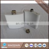 sublimation white color stainless steel hip flasks Wine Pot