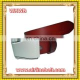 your logo printed leather knitted belts