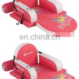 Inflatable Pool Water 3-Position Reclining Lounger Chairs with Footrest
