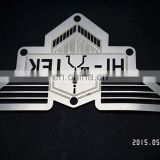 Etched Stainless Steel 3D Office Nameplate With Customized Logo