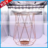 Newest Fashionable Design White Antique Bird Lantern Tabletop Metal Candle holder