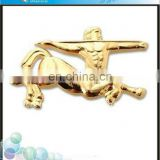 2014 hottest souvenir free sample metal craft lapel pins and badges