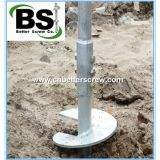 ASTM Standard Qualified Galvanized Round or Square Spiral Ground Anchor
