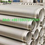 ASTM A312 Stainless Steel Wire Wrapped Rod based well screens
