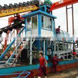 200m3/h Gold Panning Dredge Machinery Boat