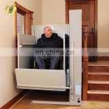 7LSJW Shandong SevenLift stair lift china straight platforms parts out door home elevator