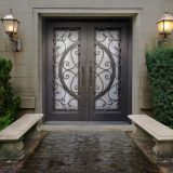 #007 Competitive price Custom Wrought Iron Door