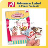 Little Pets DIY Animal Paper finger puppet theatre Finger puppet set