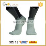Anti-Bacterial men cotton colored ankle socks for footwear and sports promotiom,good quality fast delivery